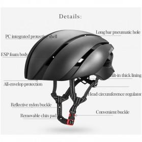 ROCKBROS Helm Sepeda Cycling Bike Helmet - LK-1 - Black/Yellow - 2