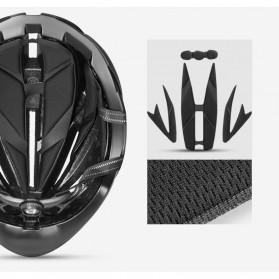 ROCKBROS Helm Sepeda Cycling Bike Helmet - LK-1 - Black/Yellow - 6