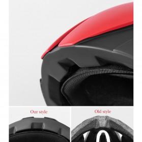 ROCKBROS Helm Sepeda Cycling Bike Helmet - LK-1 - Black - 4