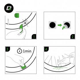 Rockbros Peralatan Portable Tambal Ban Sepeda Tire Repair Kit - Gj2001 - 4