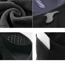 ROCKBROS Masker Motor Sepeda Full Face Ala Ninja Cycling Cap Thermal Warm - LF7127 - Black - 4