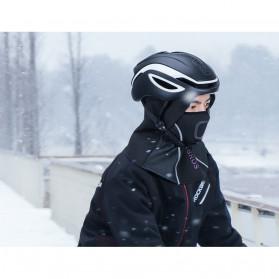 ROCKBROS Masker Motor Sepeda Full Face Ala Ninja Cycling Cap Thermal Warm - LF7127 - Black - 8