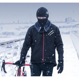 ROCKBROS Masker Motor Sepeda Full Face Ala Ninja Cycling Cap Thermal Warm - LF7196-S - Black - 7