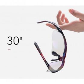 ROCKBROS Kacamata Sepeda Olahraga Polarized dengan 3 Lensa - 10037 - Gray - 7