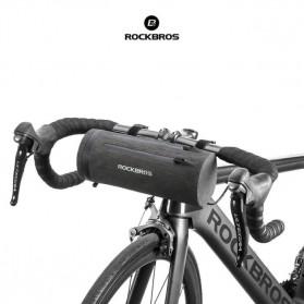 Rockbros Tas Sepeda Stang Depan Drame Waterproof Bike Bag - AS-051 - Black