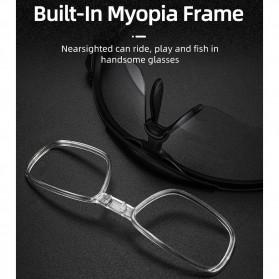 ROCKBROS Kacamata Sepeda Olahraga Lensa Photochromic Full Frame 10161 - Black/Red - 3