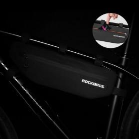 Rockbros Tas Sepeda Triangle Bicycle Bag Waterproof - AS-018 - Black - 2
