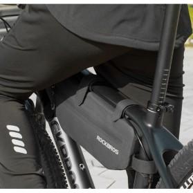 Rockbros Tas Sepeda Triangle Bicycle Bag Waterproof - AS-018 - Black - 6