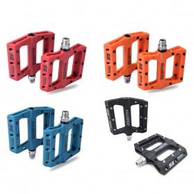 SCUDGOOD Pedal Sepeda MTB Mountain Bike Ultralight Nylon Fiber - SG-1512B - Black - 8