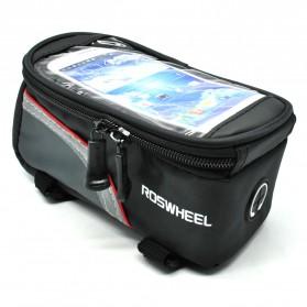 Roswheel Tas Sepeda Waterproof untuk 4.8 inch Smartphone - Black