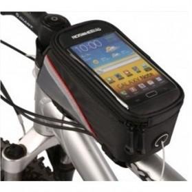 Roswheel Tas Sepeda Waterproof untuk 5.5 inch Smartphone - 12496 - Black - 3