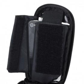 Roswheel Tas Sepeda Waterproof untuk 5.5 inch Smartphone - 12496 - Black - 5