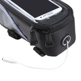 Roswheel Tas Sepeda Waterproof untuk 5.5 inch Smartphone - 12496 - Black - 7