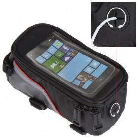 Roswheel Tas Sepeda Waterproof untuk 5.5 inch Smartphone - 12496 - Black - 9