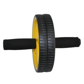 Alat Fitness Double Wheel Roller - 5