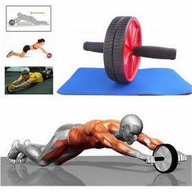 Alat Fitness Double Wheel Roller - 11