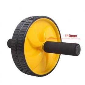 Alat Fitness Double Wheel Roller - Black - 6