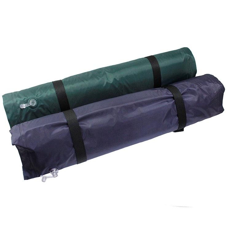 Foldable Inflatable Sleeping Mattress Bag Purple 2