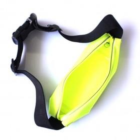 Tali Ikat Pinggang Olahraga Waterproof + Slot Smartphone 5.5 Inch - 150806 - Green - 3