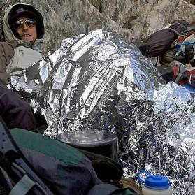 TaffSPORT Emergency Blanket / Selimut Darurat - SL03-001 - Silver - 6