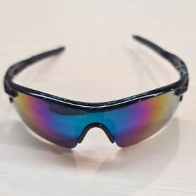 RainTree Outdoor Sport Mercury Sunglasses for Man and Woman - 009189 - Black - 2