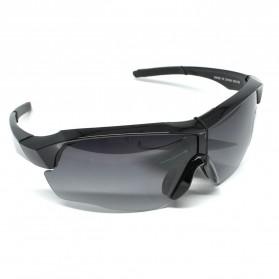 RainTree Outdoor Sport Mercury Sunglasses for Man and Woman - 009189 - Black/Black - 2