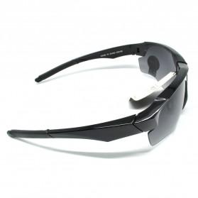 RainTree Outdoor Sport Mercury Sunglasses for Man and Woman - 009189 - Black/Black - 3