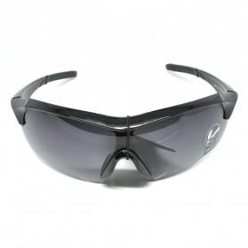 RainTree Outdoor Sport Mercury Sunglasses for Man and Woman - 009189 - Black/Black - 4