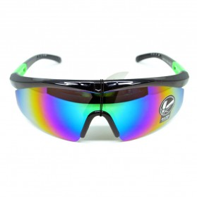 Outdoor Sport Mercury Sunglasses for Man and Woman - 009188 - Black - 2