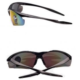 Kacamata Sepeda Lensa Mercury - 0091 - Black Gold - 2