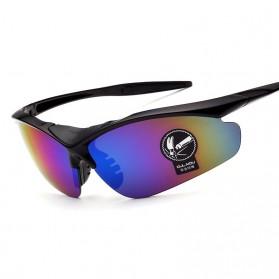 Kacamata Sepeda Lensa Mercury - 0091 - Black