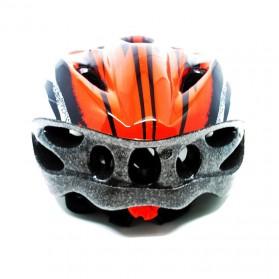 TaffSPORT Helm Sepeda EPS Foam PVC - x31 - Red/Black - 2