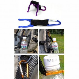 Holder Mineral Bottle Buckle Keychain / Pengait Botol Minum - 5X - Multi-Color