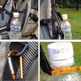 Holder Mineral Bottle Buckle Keychain / Pengait Botol Minum - 5X - Multi-Color - 5