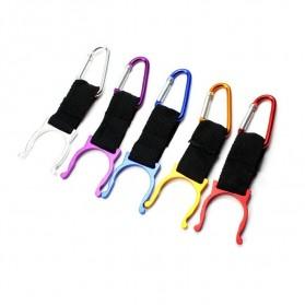 Holder Mineral Bottle Buckle Keychain / Pengait Botol Minum - 5X - Multi-Color - 8