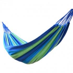 Folding Outdoor Hammock 180 x 100 cm / Tempat Tidur Gantung - Blue