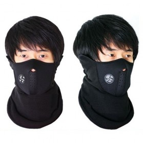 Masker Ski Setengah Wajah - Red - 8