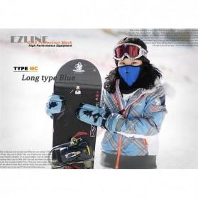 Masker Ski Setengah Wajah - Blue - 6