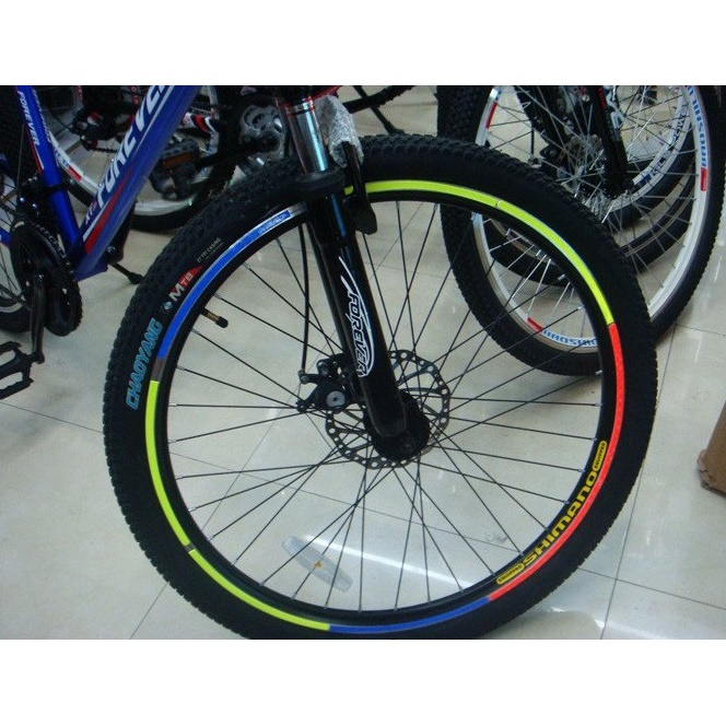 Bicycle Wheel Reflective Sticker / Stiker Roda Sepeda - 8