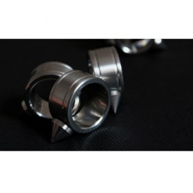 Outdoor Self Defense Knuckle Ring Weapon / Cincin Bela Diri - Silver - 6