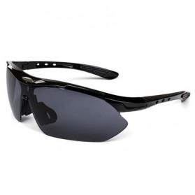 Kacamata Sepeda Parkour - 0089 - Black/Black