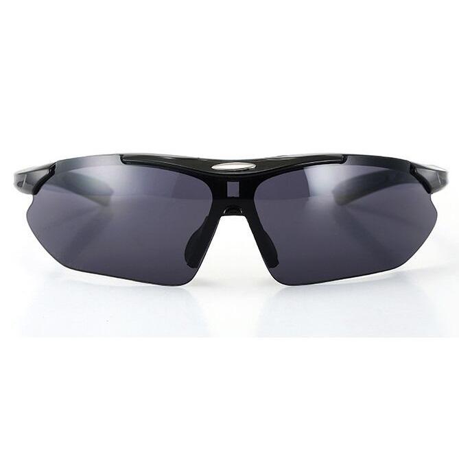 Kacamata Sepeda Parkour - 0089 - Black/Black - 5 .
