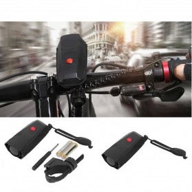 Bel Sepeda Electric Horn Loud Voice for Bicycle - DBH-778 - Black - 3