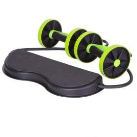 Alat Fitness Multifungsi AB Wheel Revoflex Xtreme Rally - Black - 2