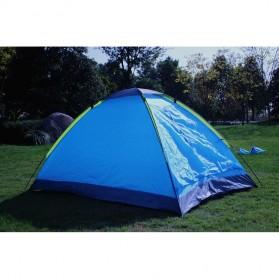 Double Layer Door Camping Tent / Tenda Camping - ZP32750 - Blue - 2