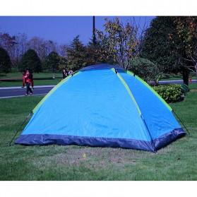 Double Layer Door Camping Tent / Tenda Camping - ZP32750 - Blue - 3