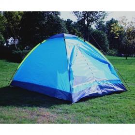 Double Layer Door Camping Tent / Tenda Camping - ZP32750 - Blue - 4