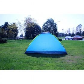 Double Layer Door Camping Tent / Tenda Camping - ZP32750 - Blue - 5