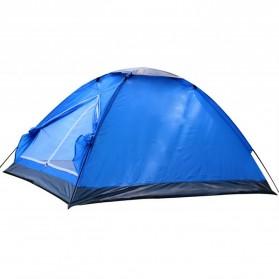 Double Layer Door Camping Tent / Tenda Camping - ZP32750 - Blue - 6