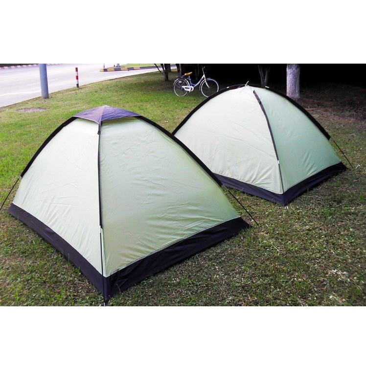 Double Layer Door Camping Tent / Tenda Camping - ZP32750 - Blue - 16 ...